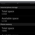 HTC Incredible Low Disk Space